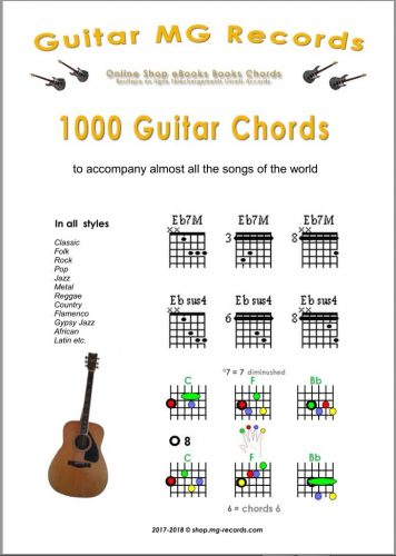 1000 Guitar Chords PDF to download -